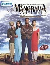 MANORAMA 6FT UNDER - Abhay Deol, Vinay Pathak - NEW BOLLYWOOD DVD - FREE UK POST