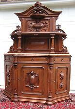 MAGNIFICENT VICTORIAN RENAISSANCE REVIVAL WALNUT SIDEBOARD