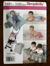 Simplicity Pattern 1481 Baby Accessories & Swim Diaper infants babies nursery