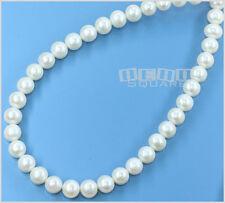 White Freshwater Pearl Off Round Potato 7-8mm #17077