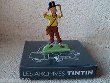 Figurine métal Tintin Les cigares du pharaon MOULINSART