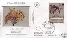 2798 FDC ENVELOPPE 1er JOUR SOIE GERMAINE RICHIER