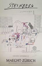 Saul Steinberg Estampe originale quadri signée numérotée art moderne New Yorker