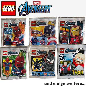 LEGO Marvel Avengers Superhelden Polybag Folienbeutel - nach Wahl NEU OVP