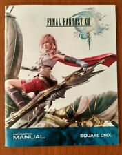 Final Fantasy 13 - Game Manual - *Only* - Sony - PlayStation 3 - PS3