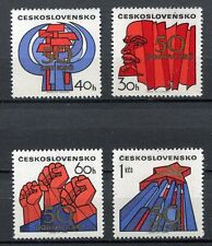 32958) CZECHOSLOVAKIA 1971 MNH** Communist Party 4v