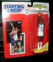 Starting Lineup Alonzo Mourning sports figure 1993 Kenner SLU Hornets