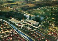 Ansichtskarte Kolbermoor Luftbild: Fabrikanlage 1961
