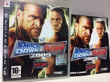 SMACK DOWN VS RAW 2009  PS3  USATO