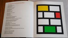 23rd Light PoemJackson Mac Low  Ian Tyson Concrete Visual Broadside Tetrad 1970