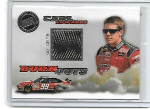 2008 PRESS PASS ECLIPSE BURN OUTS CARL EDWARDS NASCAR RACING VERY NICE CARD