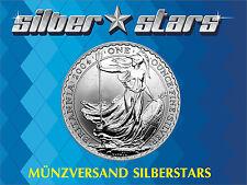1 OZ  Unze Silber Britannia 2004  Top