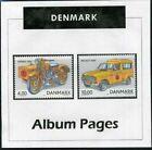 Denmark - CD-Rom Stamp Album 1851-2015 Color Illustrated Album Pages