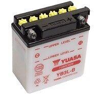 Yuasa YB3L-B, 12v 3Ah 30 CCA Motorbike Motorcycle Battery Inc Filling Kit