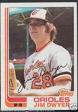 Topps 1982 Baseball Card - No 359 - Jim Dwyer - Orioles