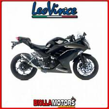 marmitta leovince kawasaki ninja 300 r 2015- gp corsa carbonio/inox 3293