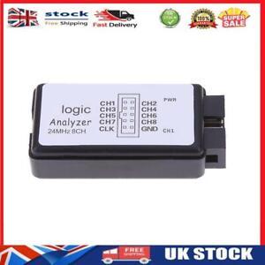 USB Logic SCM 24MHz 8 Channel Logic Analyzer Debugger for ARM FPGA-124493