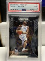 2019 Zion Williamson Prizm #1 DP PSA 9 Rookie RC