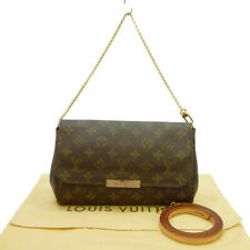 Auth LOUIS VUITTON Pochette Favorite MM Shoulder Bag Monogram M40718 #S408003