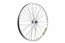 26 X 1.75 MTB Silver Solid Axle Front Wheel SW
