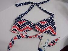 New Catalina Padded Bikini Swim Suit Bandeau Top Size Small (4-6)