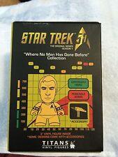 Captain Kirk Boston Red Sox Star Trek Vinyl Figurine William Shatner SGA 8-12-16