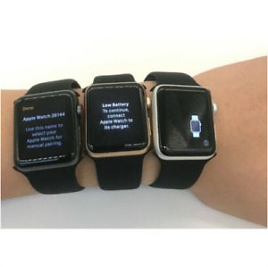 Apple Watch Series 3 (38MM)Space Gray Aluminum Case Blac GPS+LTE Cellular