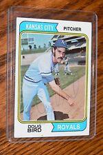Doug Bird 1974 Topps Signed Autographed Card # 17 Kansas City Royals!