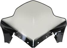 20in 450-264-10 SNO Stuff - Clear//Graphics Polaris Rush High Windshield