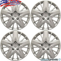 "18"" Inch Hubcaps Wheel Covers Hub Caps Steel Wheels Retention Ring New Set of 4"