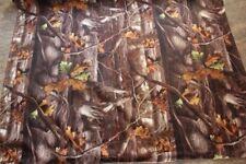 Real Tree Hardwood Fall Leaves Outdoor Duck Fabric Waterproof Camouflage Camo