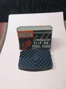 Vintage Kastar Combination Slip-On Pedal Pad #82 - Buick, Pontiac, Nash, Ford