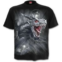 SPIRAL DIRECT NEW DRAGON'S CRY T-Shirt Biker/Skull/Wild/Mountain/Wings/Tee/Top