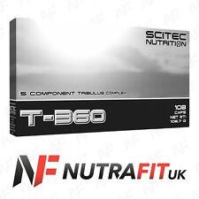 SCITEC NUTRITION T-360 TESTOSTERONE BOOSTER TRIBULUS ZINC L-CARNITINE 108 CAPS