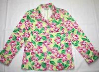 WOMENS NORDSTROM SIZE 12 jacket floral blazer