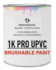 uPVC, PVC, PVCu BRUSHABLE PAINT - 1L TIN - RAL 7013 - BROWN GREY - MATT FINISH