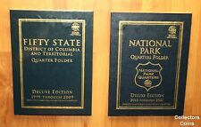 1999 -2018 State & National Park 194 Quarter BU PD Set to Date w/Whitman Folders