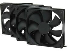 Rosewill 120mm Case Fan 4-Pack, Long Life Sleeve Bearing Computer Case Fan ROCF-