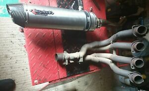 Suzuki GSXR750 K6 Exhaust, LEXTEK end can and connecting pipe NO damage,