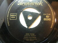 "Jerry Colonna – Ebb Tide 1954 7"" Brunswick 05243"