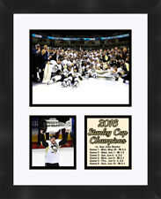 Pittsburgh Penguins Stanley Cup Framed photo collage poster 11X14 Frames By Mail