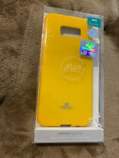 Goospery by Mercury -  Samsung Galaxy S8 plus - yellow jelly