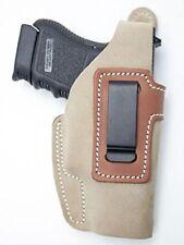 Cebeci 20801RT51 Right-Hand Suede IWB 20801 Holster Gun Belt, Tan NEW!