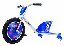 Big Wheel 360 Drift Rip Rider Chopper Tricycle Toy Kids Pedal On Trike Blue New