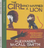 The Girl Who Married a Lion Alexander McCall Smith 3CD Audio Book NEW Abridged