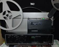 *** PROJECTEUR BIFORMAT SUPER 8/8MM  HANIMEX LOADMATIC 808D - TRANSFERT FILMS **
