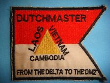 VIETNAM WAR PATCH, US DUTCHMASTER FROM THE DELTA TO DMZ