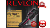 Black Revlon Pro Collection Hot Air One Step Hair Dryer Brush Styler Volumizer