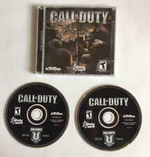 Call of Duty 1 (PC, 2003) *2 Discs* Included w/ Code!