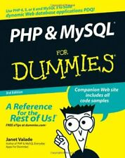 PHP & MySQL For Dummies 3rd edition (For Dummies (Computer/Tech)) By Janet Vala